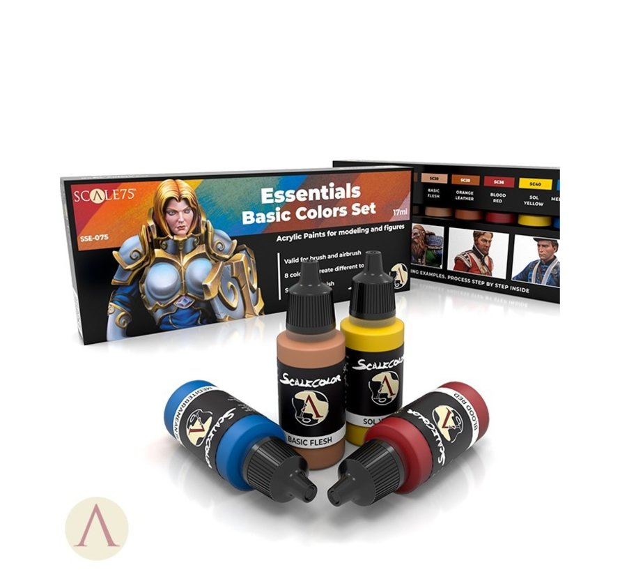 Essentials Basic Colors Set - 8 kleuren - 17ml - SSE-075