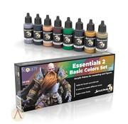 Scale 75 Essentials 2 Basic Colors Set - 8 kleuren - 17ml - SSE-076