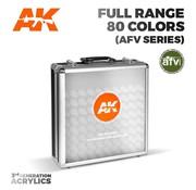 AK interactive Limited Edition Briefcase AFV Series 3rd Generation - 80 kleuren - 17ml - AK11703