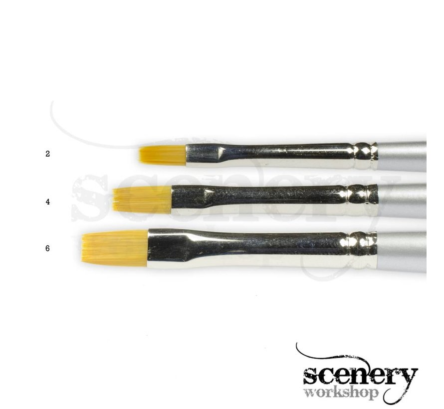 Paint Master Drybrush nr. 6 - groot - PM5006
