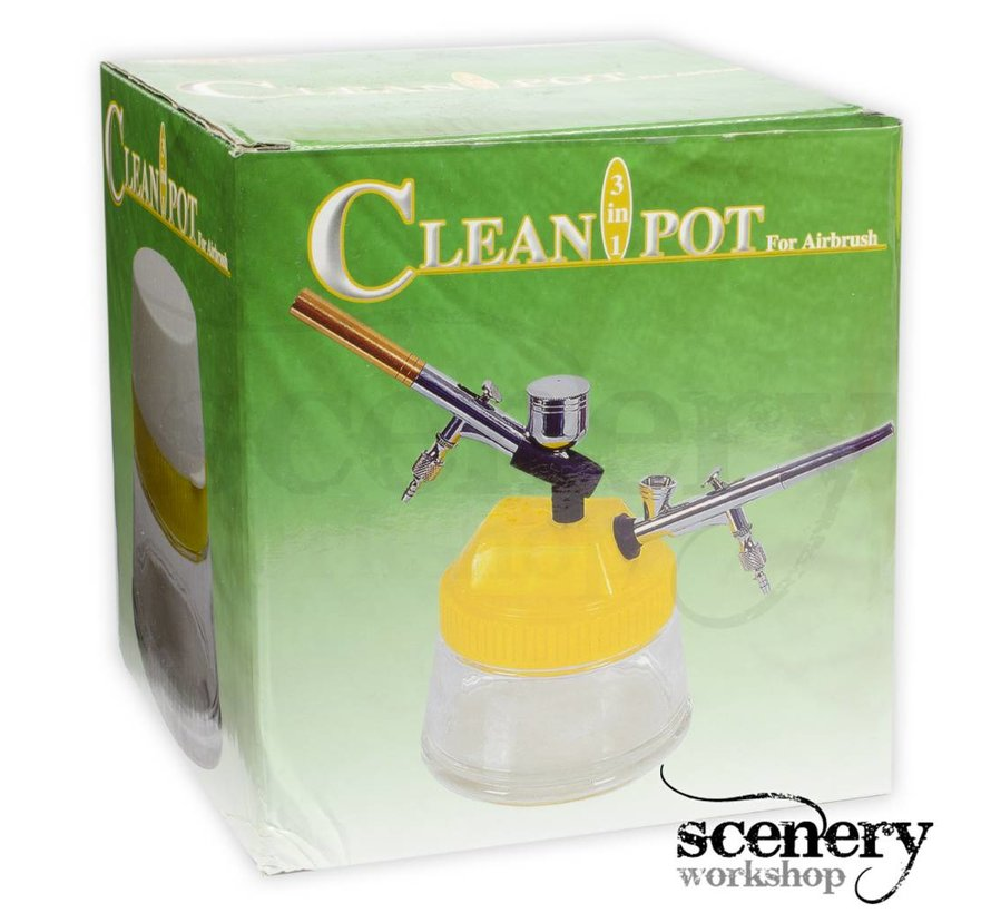 Cleanpot 3 in 1 for Airbrush - 27089