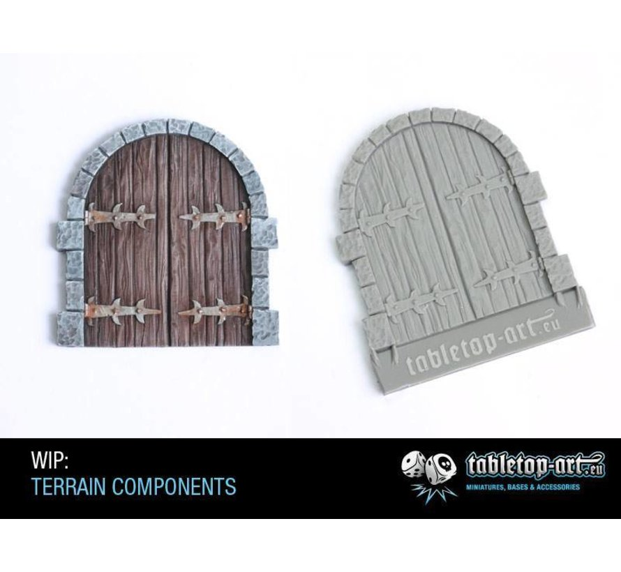 Terrain components - Large gate 1 - TTA800000