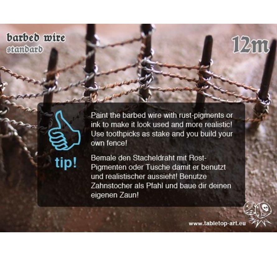 Barbed Wire standard - 12m - TTA-BB0004