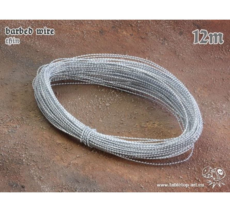 Barbed Wire thin - 12m - TTA-BB0002