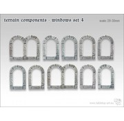 Tabletop-Art Terrain components - Windows set 4 - TTA800007