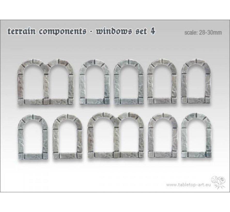 Terrain components - Windows set 4 - TTA800007