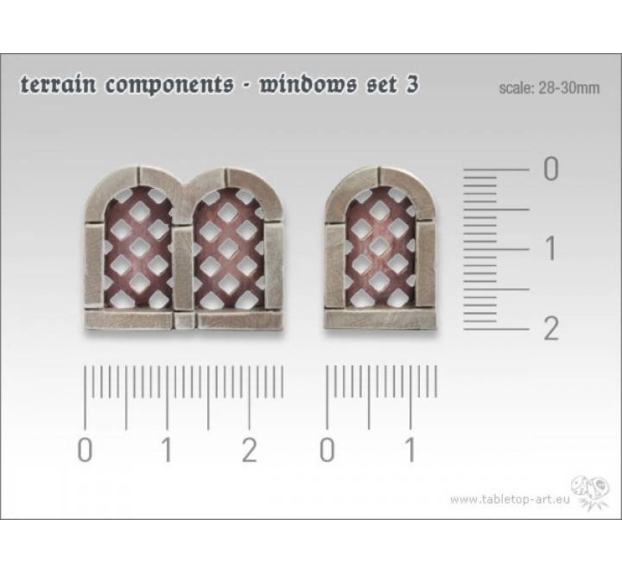 Terrain components - Windows set 3 - TTA800006