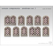 Tabletop-Art Terrain components - Windows set 3 - TTA800006