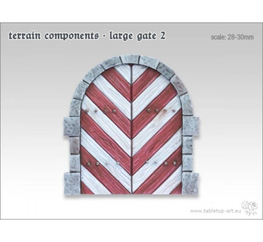 Terrain components - Large gate 2 - TTA800005