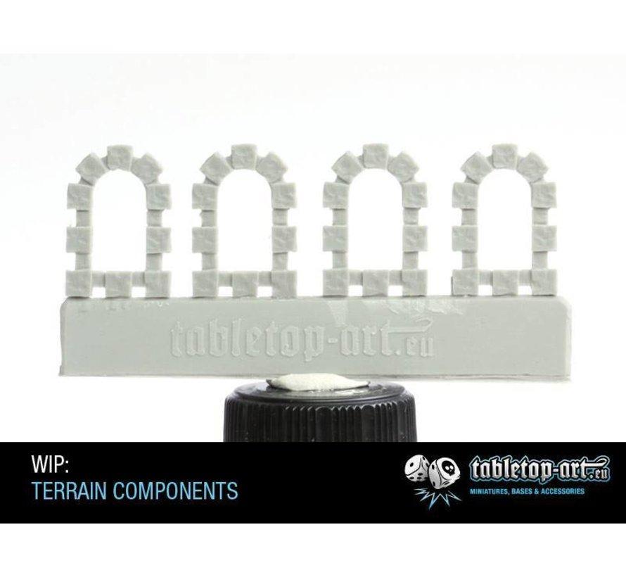 Terrain components - Windows set 2 - TTA800004