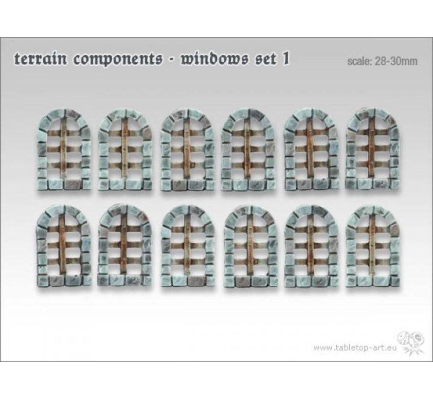 Terrain components - Windows set 1 - TTA800003