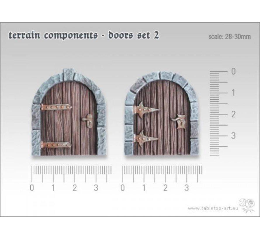 Terrain components - Doors set 2 - TTA800002