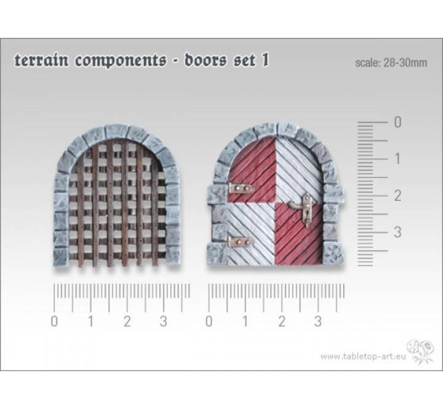 Terrain components - Doors set 1 - TTA800001