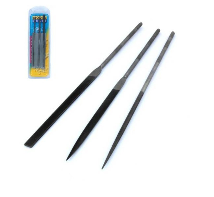 Precision Needle Files Set Swiss Style - 3x - PKF3443/2