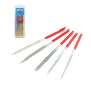 Model Craft Diamond Needle File Set - 5x - PFL6002