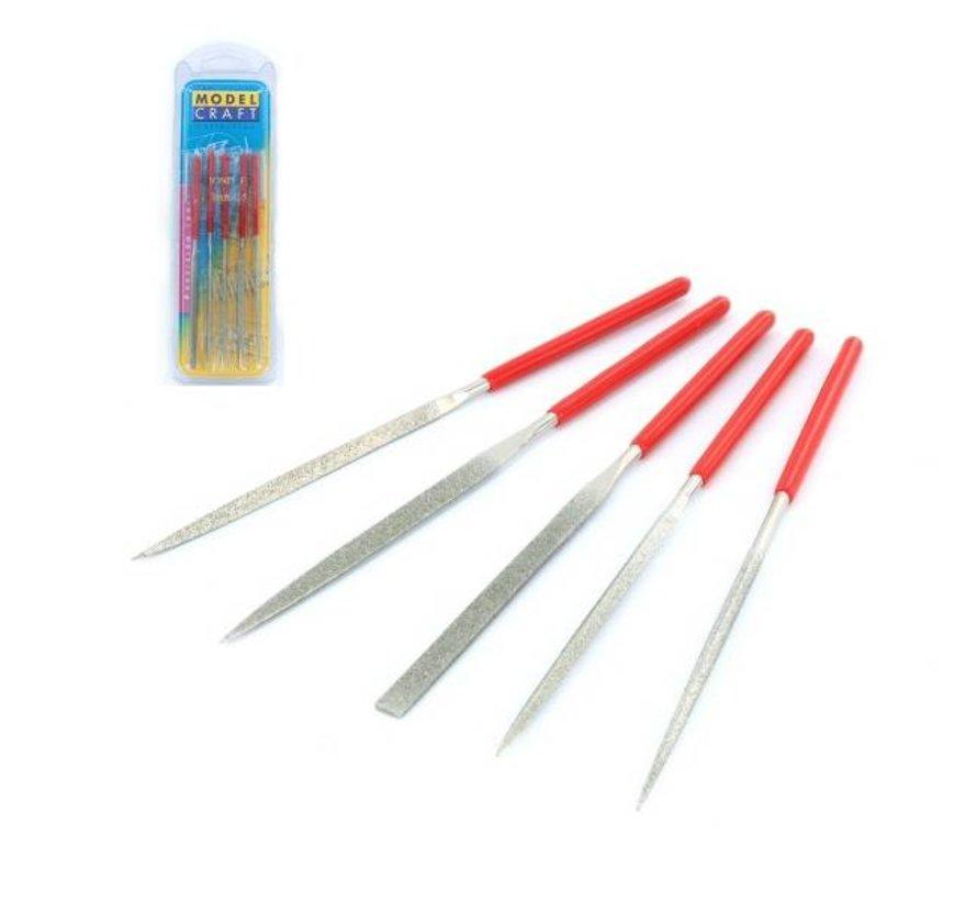 Diamond Needle File Set - 5x - PFL6002