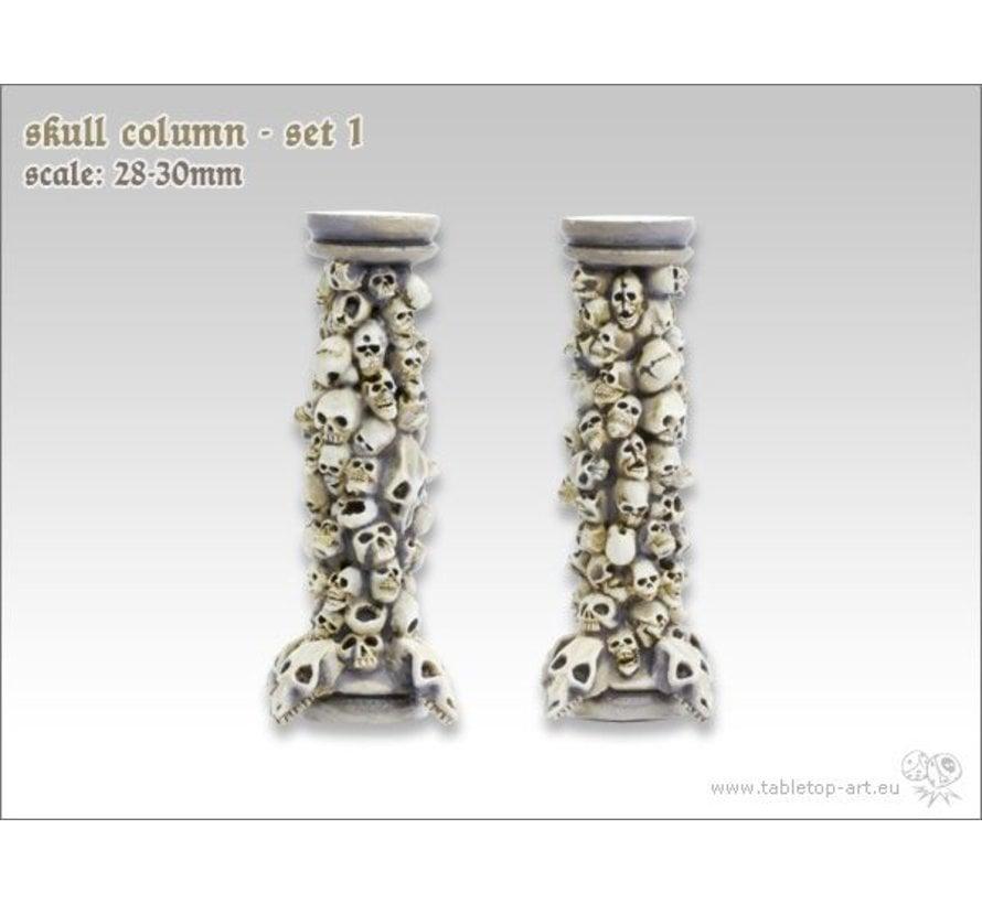 Skull Column set 1 - TTA600021