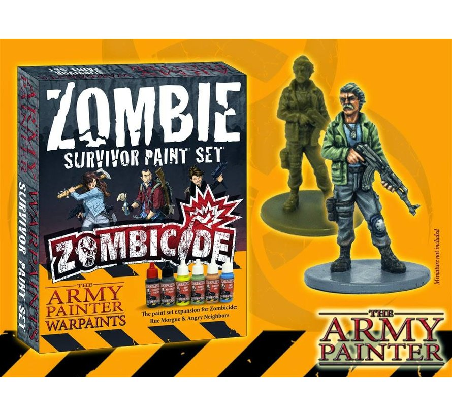 Warpaints Zombicide Survivor Set - 6 kleuren - 17ml - WP8009