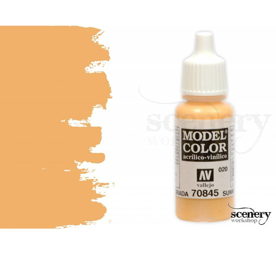 Model Color Sunny Skintone -17ml -70845