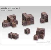 Tabletop-Art Stacks of crates set 1 - TTA601052