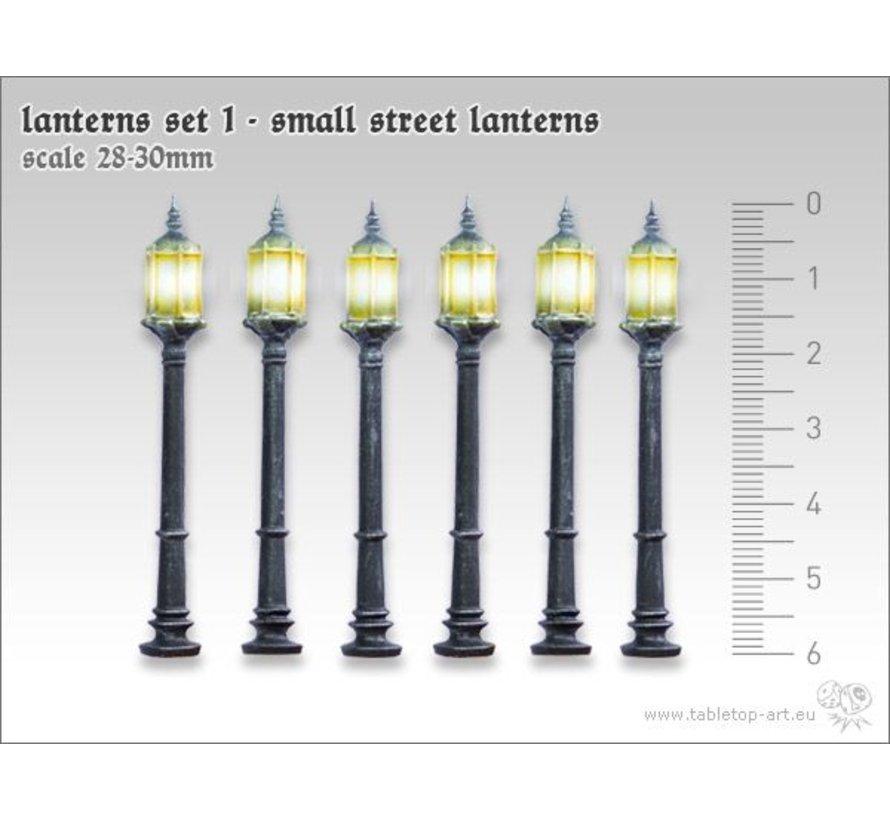 Lanterns set 1 - Small street lanterns - TTA601055