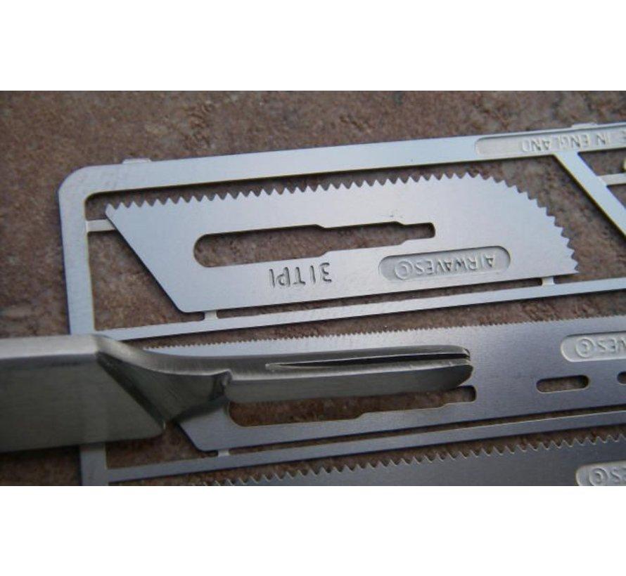 Zaagset met scalpel nr. 2 - PKN0009/K