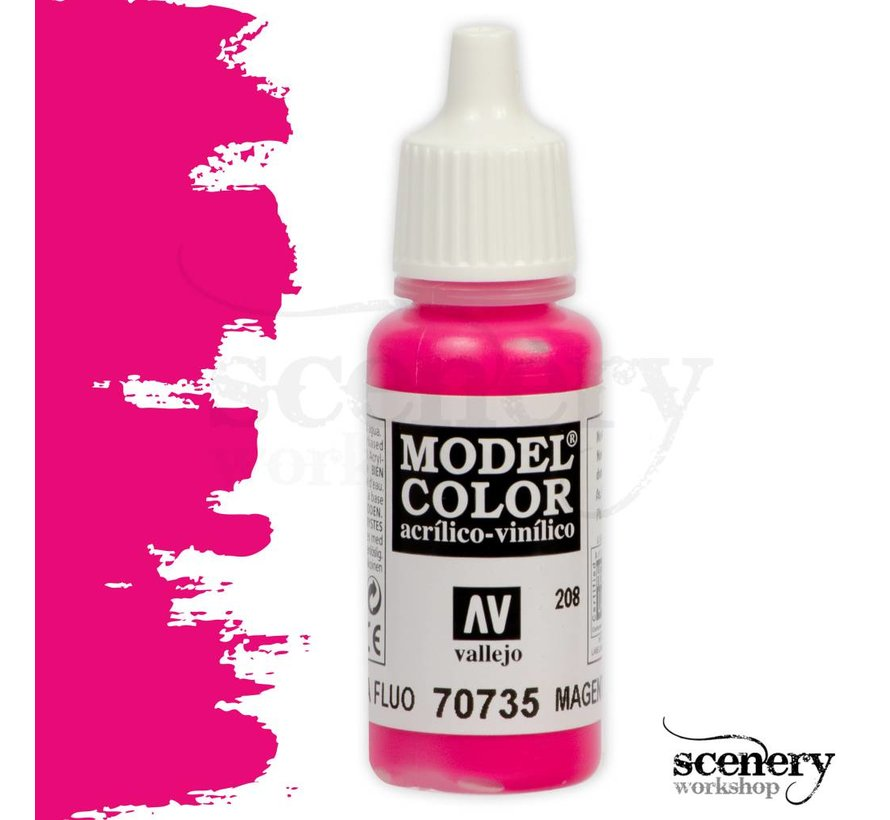 Model Color Magenta Fluo - 17ml - 70735