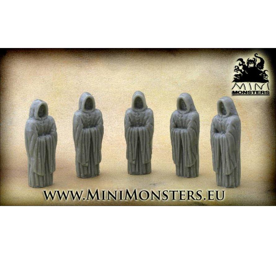 Monks Statue - 5pcs - MM-19