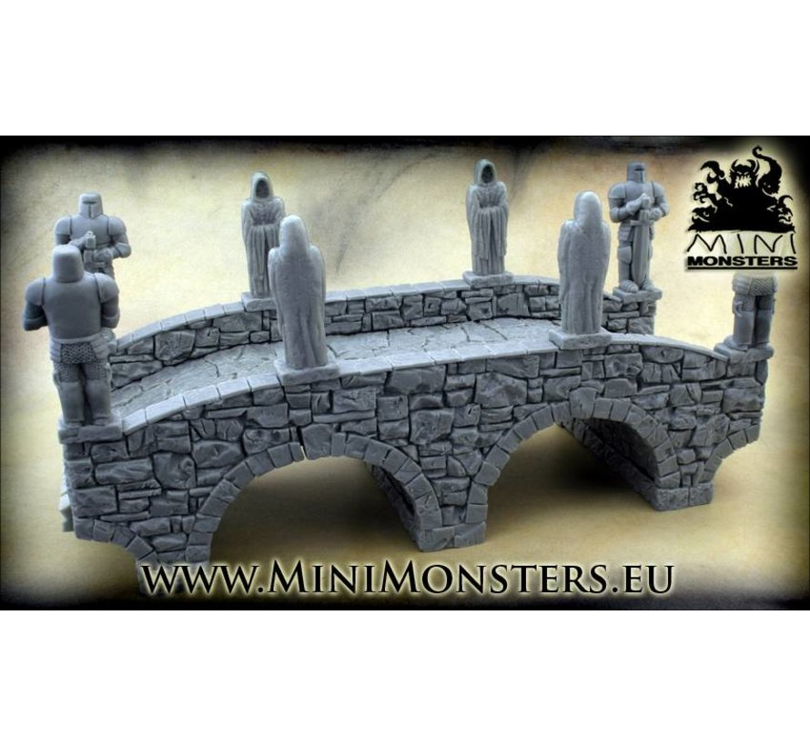 Monks Statue -5x - MM-0033