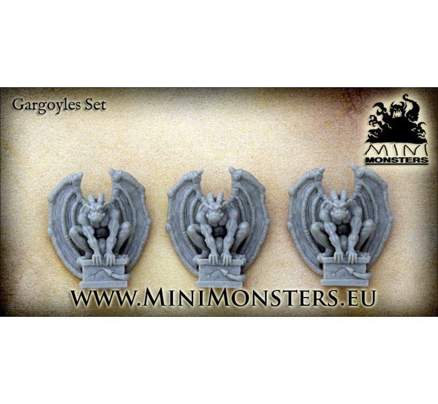 Gargoyle - 3 stuks - MM-17