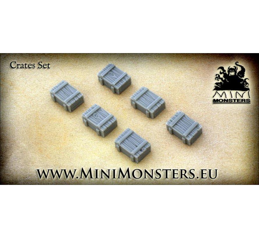 Kratten - 6 stuks - MM-16