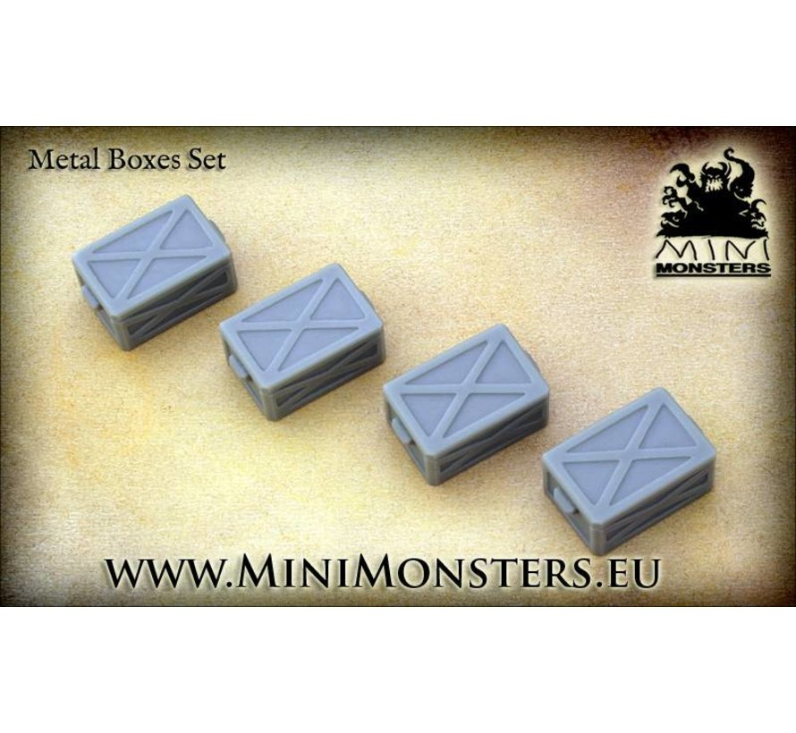 Metal Boxes - 4st - MM-15