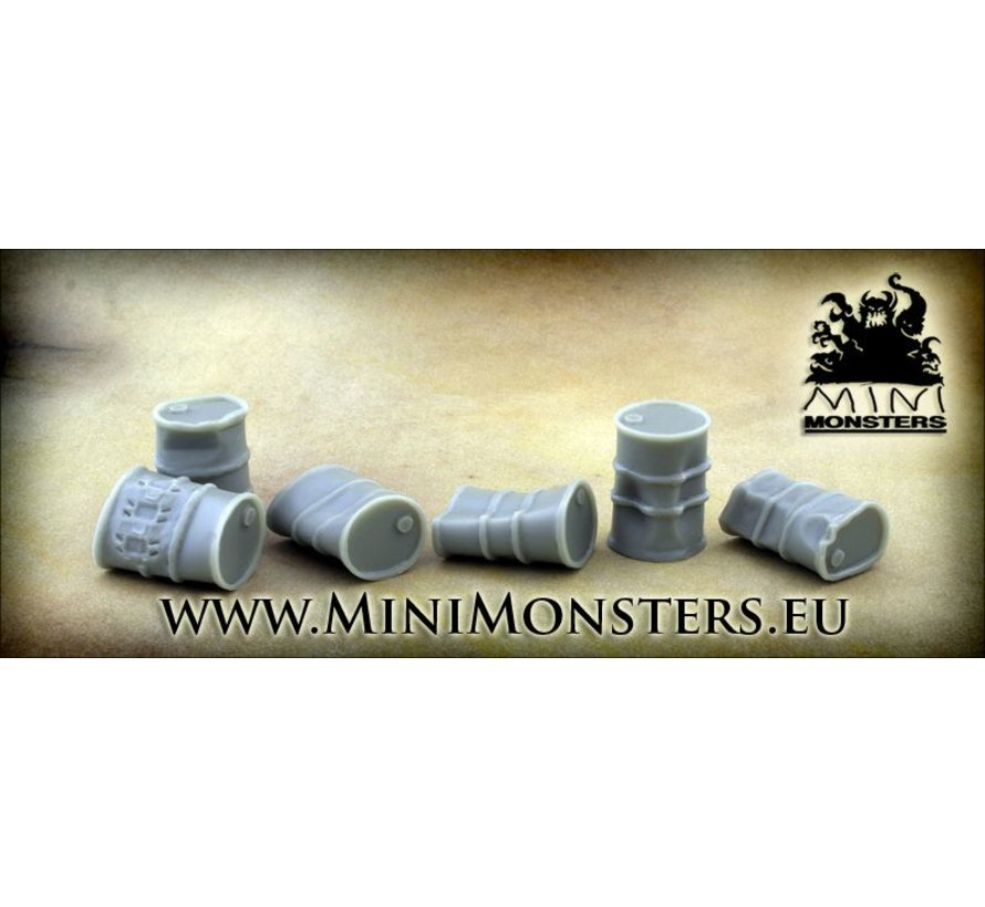 Crushed Barrels - 6 stuks - MM-13