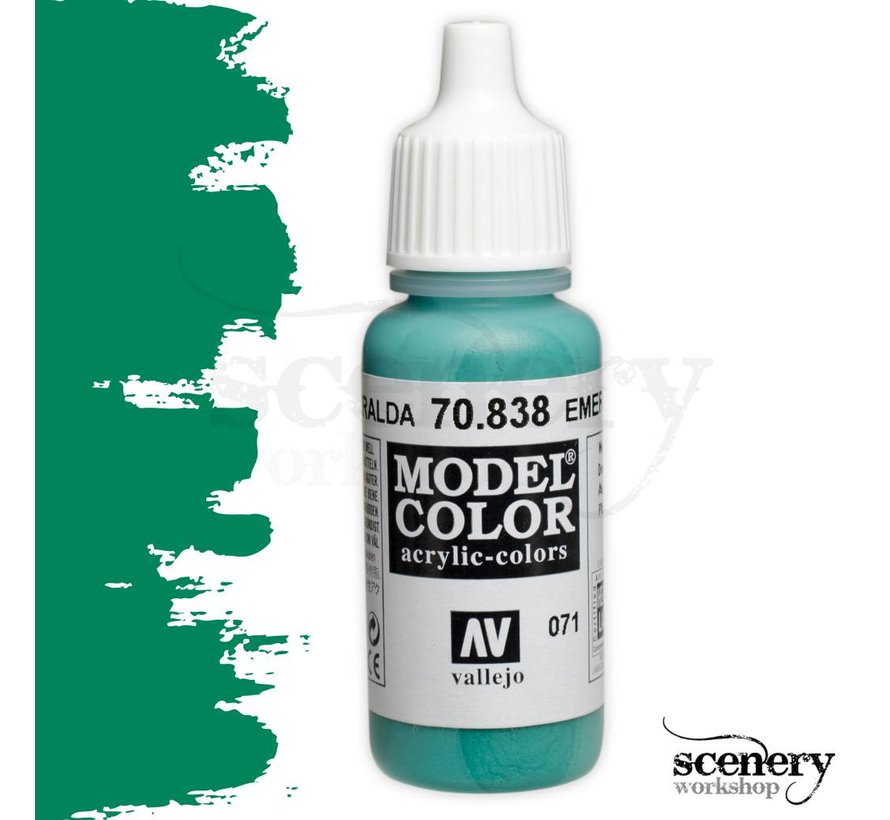 Model Color Emerald -17ml -70838