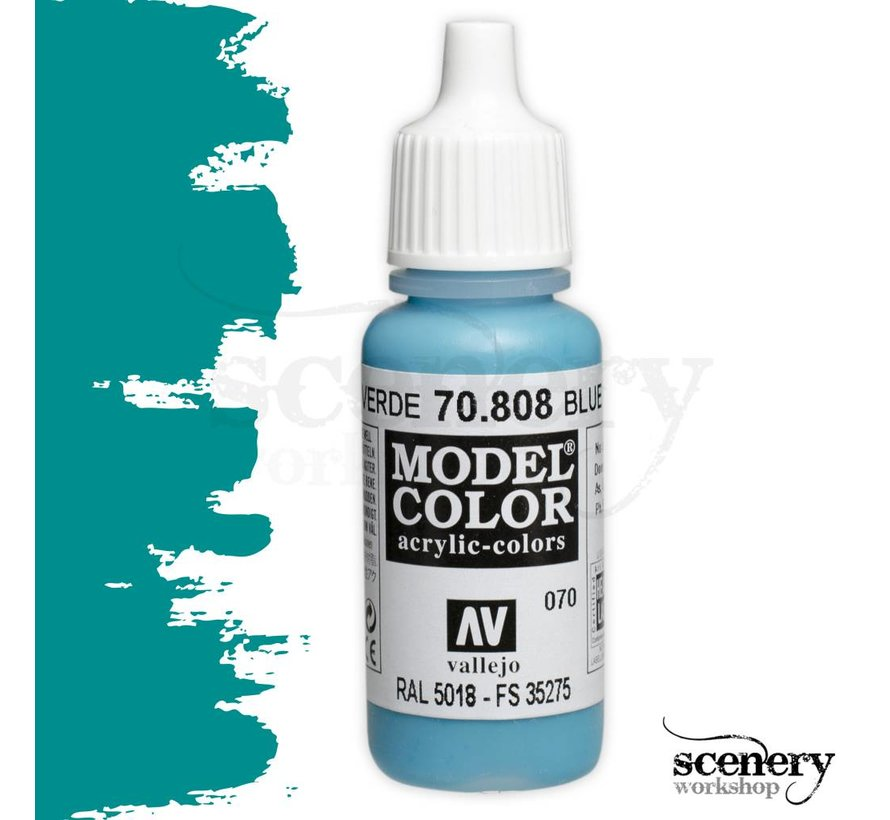 Model Color Blue Green -17ml -70808
