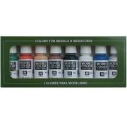 Vallejo Model Color Wargame Basics - 8 kleuren - 17ml - 70103