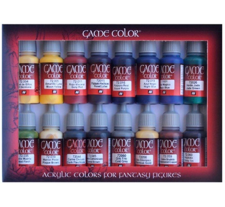 Game Color Set Advanced - 16 kleuren - 17ml - 72298