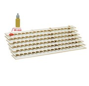 Hobbyzone Large Paint Stand - 25mm potjes groot verfrek - S2s