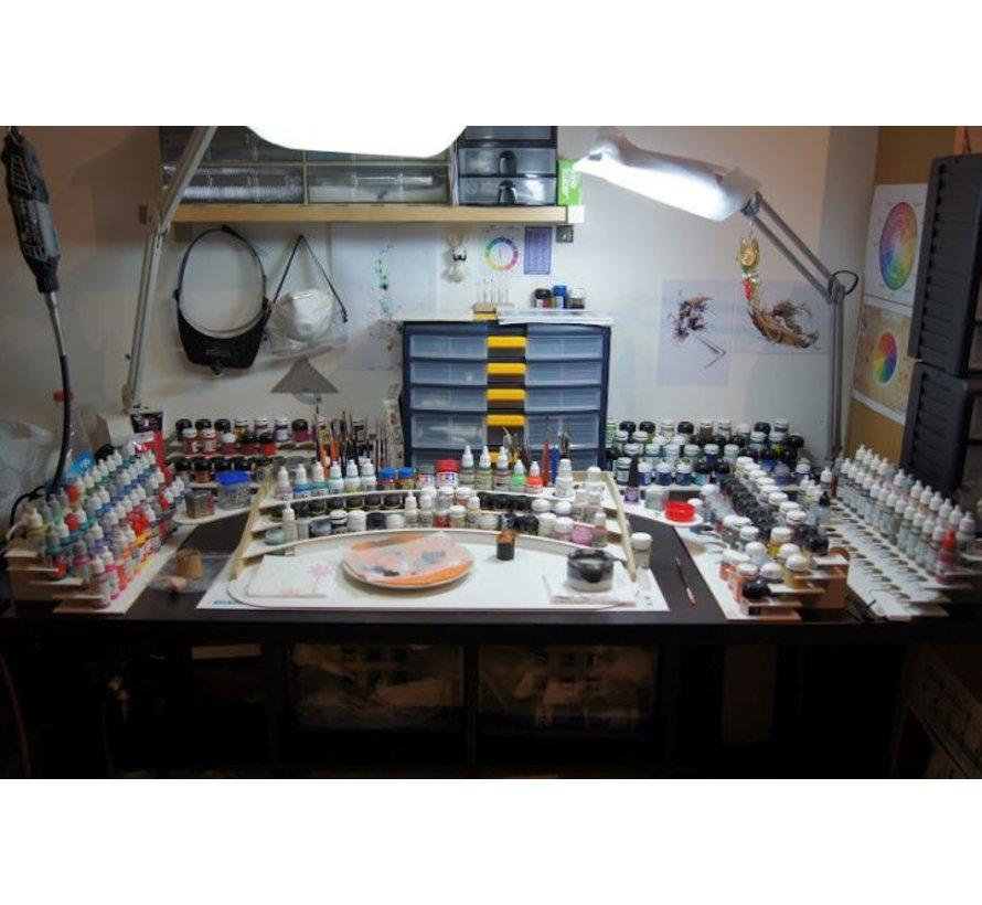 Paint Stand - 36mm potjes verfrek - S1b