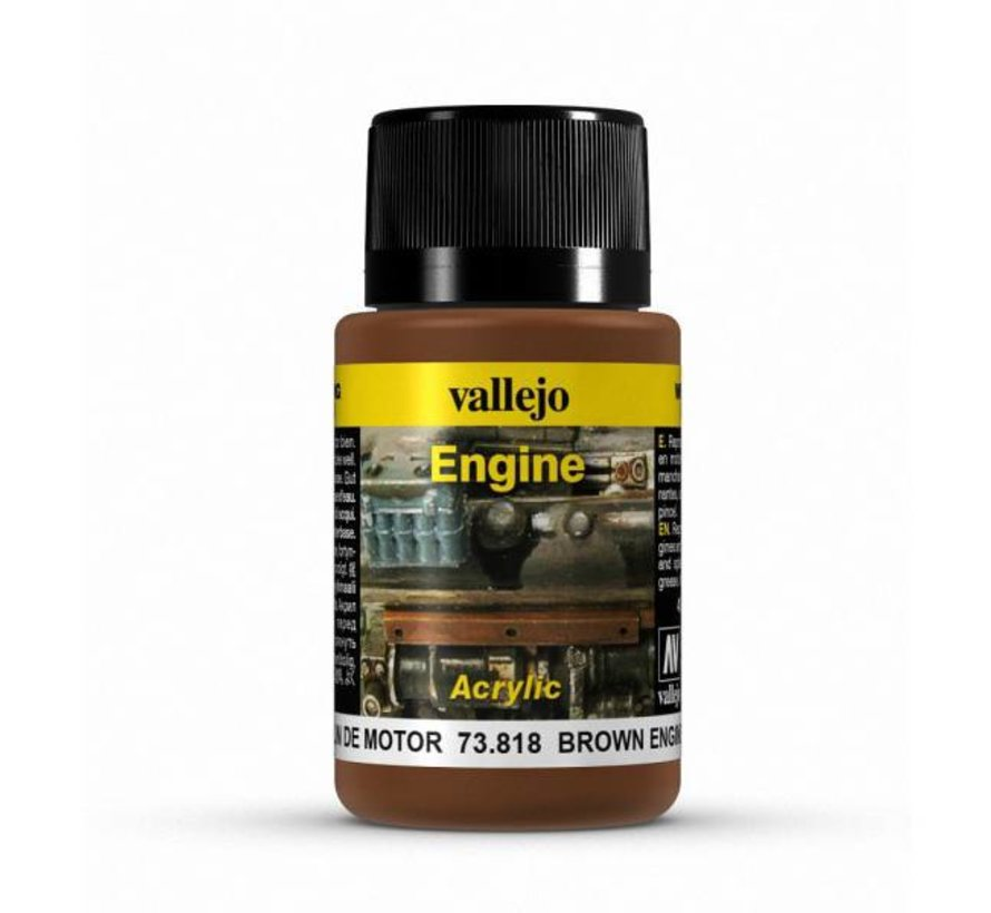 Brown Engine Soot Engine Effects Weathering Effects - 40ml - 73818