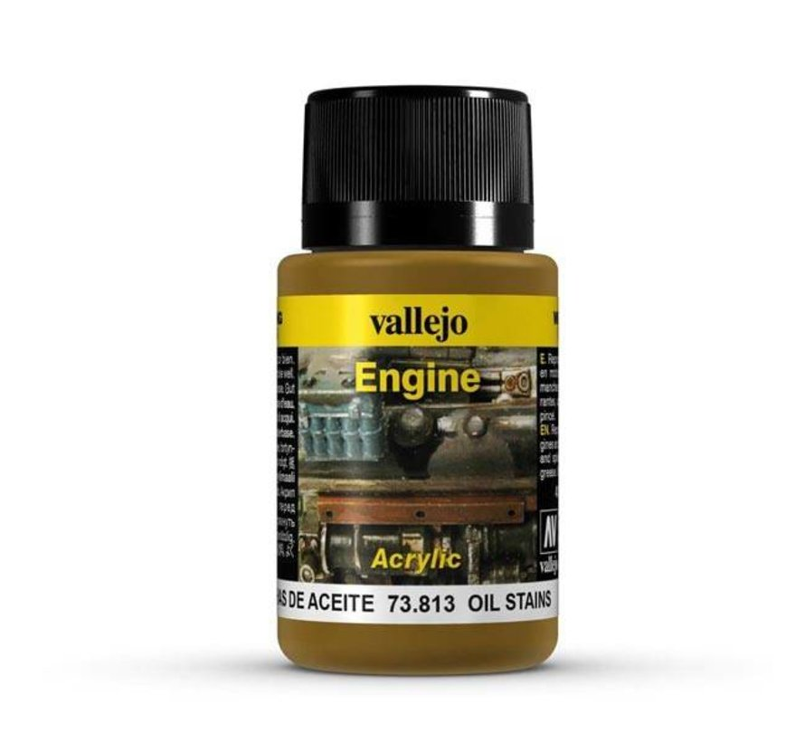Oil Stains Engine Effects Weathering Effects - 40ml - 73813