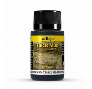 Vallejo Black Mud Thick Mud Weathering Effects - 40ml - 73812