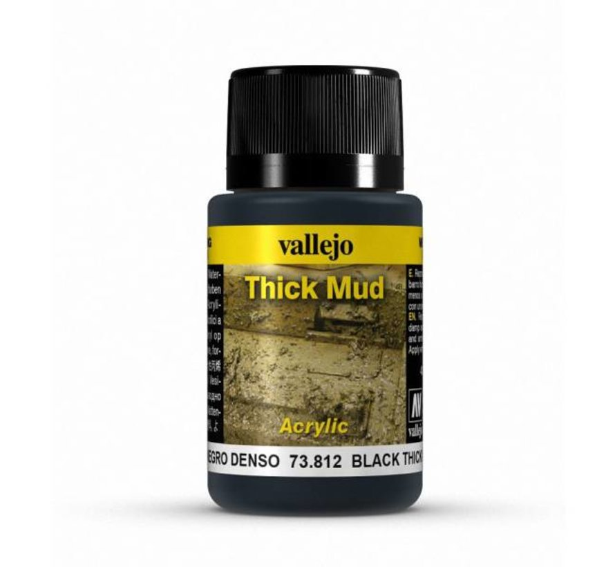 Black Mud Thick Mud Weathering Effects - 40ml - 73812