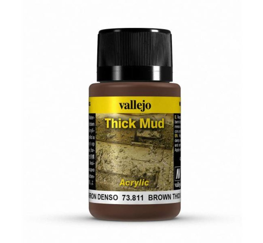 Brown Mud Thick Mud Weathering Effects - 40ml - 73811