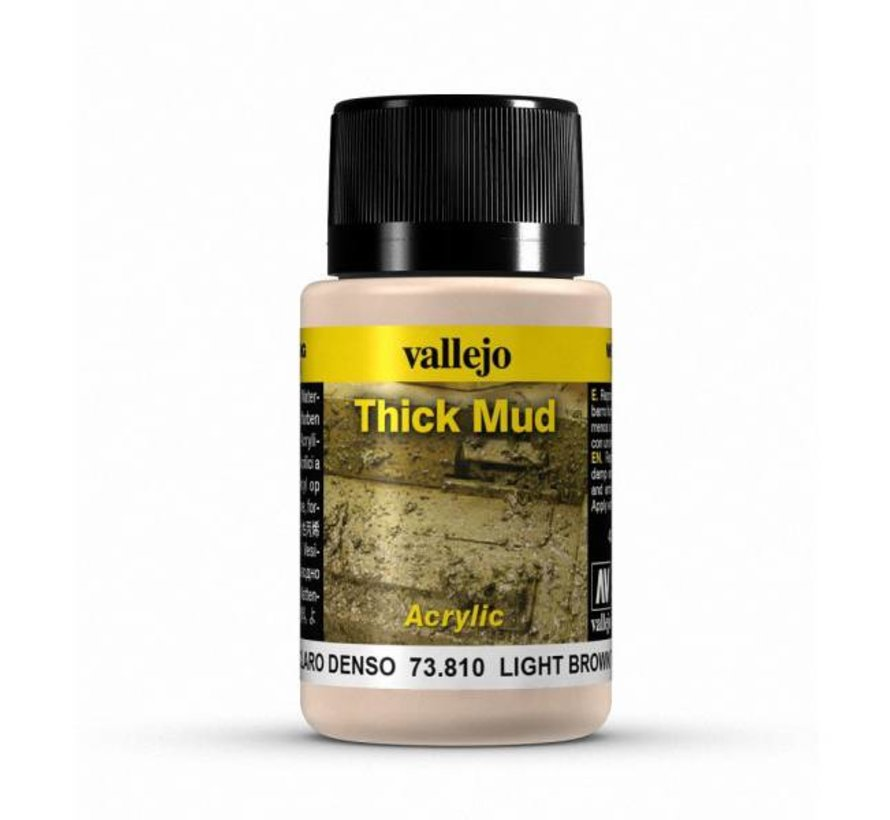 Light Brown Mud Thick Mud Weathering Effects - 40ml - 73810