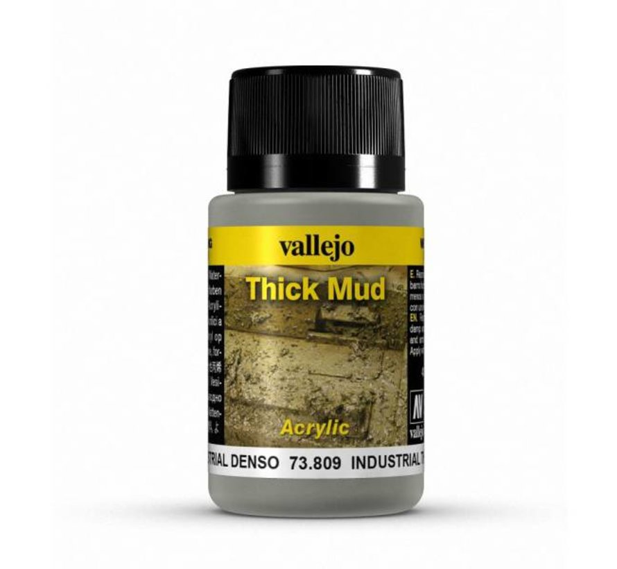Industrial Mud Thick Mud Weathering Effects - 40ml - 73809