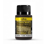 Vallejo Russian Mud Thick Mud Weathering Effects - 40ml - 73808