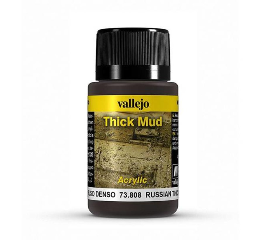 Russian Mud Thick Mud Weathering Effects - 40ml - 73808