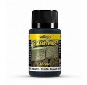 Vallejo Black Splash Mud Weathering Effects - 40ml - 73806