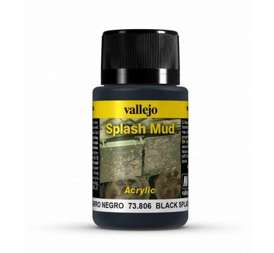 Black Splash Mud Weathering Effects - 40ml - 73806